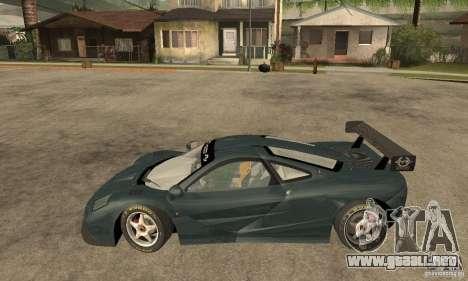 Mclaren F1 LM (v1.0.0) para GTA San Andreas left