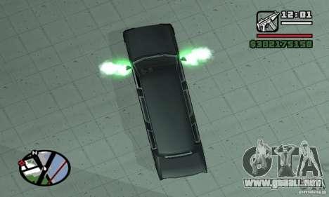 Purga en NFS para GTA San Andreas tercera pantalla