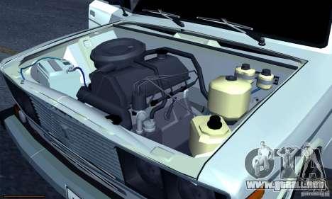Hobo 2106 VAZ para vista lateral GTA San Andreas