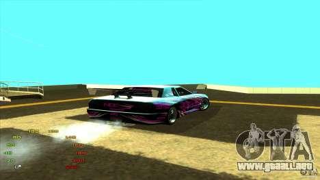 Paquete de vinilo para Elegy para GTA San Andreas tercera pantalla