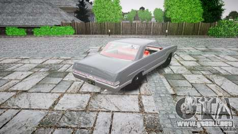 Ford Mercury Comet Caliente Sedan 1965 para GTA 4 vista lateral