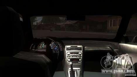 Acura NSX Stock para vista lateral GTA San Andreas