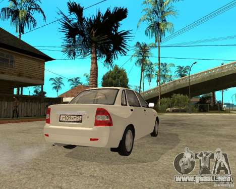 VAZ 2170 Lada Priora para GTA San Andreas