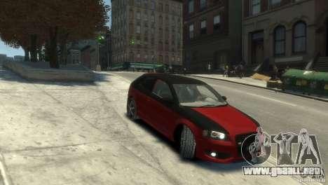 Audi BS3 O.CT Tuning para GTA 4 visión correcta