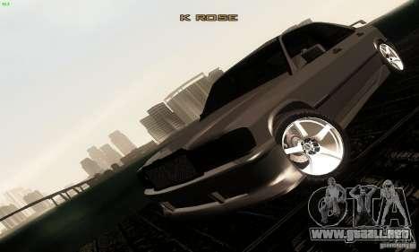 Mercedes-Benz 190E V2.0 para vista lateral GTA San Andreas