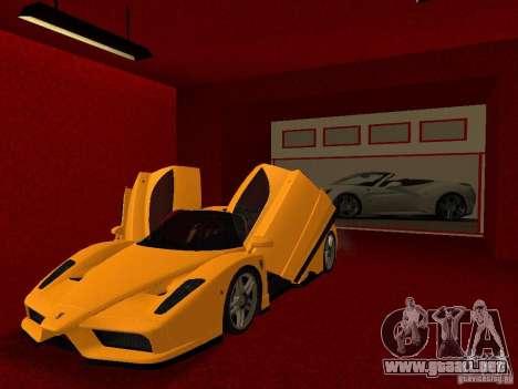 Nuevo Showroom de Ferrari en San Fierro para GTA San Andreas undécima de pantalla