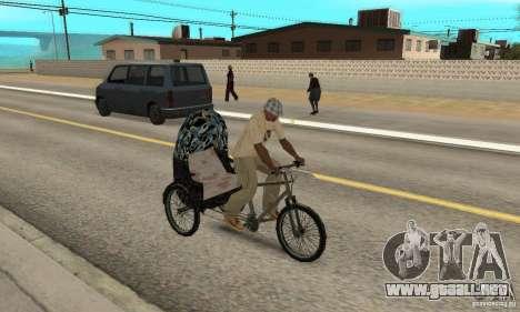Manual Rickshaw v2 Skin3 para la visión correcta GTA San Andreas