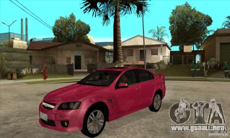 Chevrolet Lumina SS para GTA San Andreas