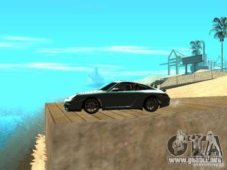 Porsche 997 GT3 RS para GTA San Andreas left