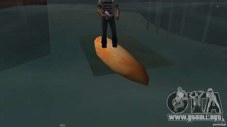 Surfboard 2 para GTA Vice City left