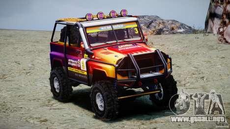 UAZ Hunter juicio v1.0 para GTA 4 left