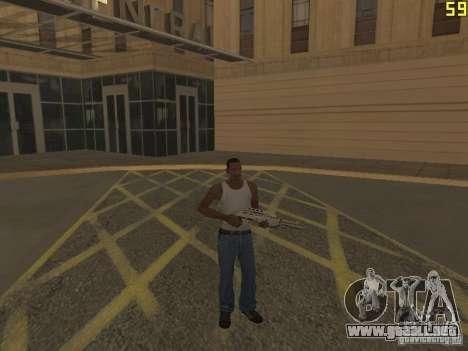 Regeneración de los brazos en asesinato para GTA San Andreas tercera pantalla