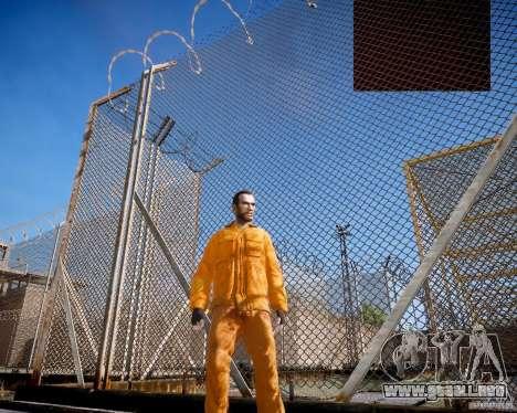 The prison Rob para GTA 4 segundos de pantalla