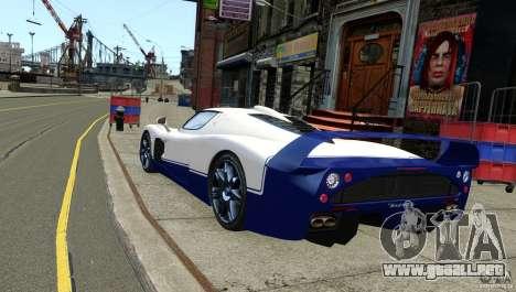 Maserati MC12 para GTA 4 left
