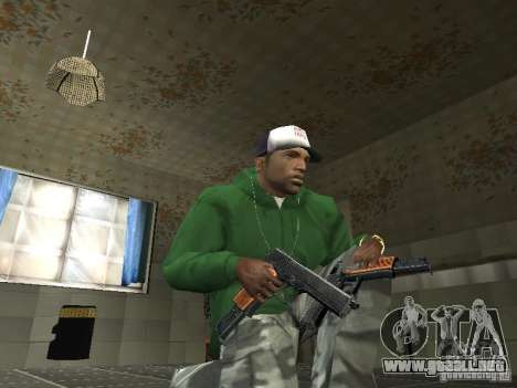 Pak domésticos armas V2 para GTA San Andreas tercera pantalla
