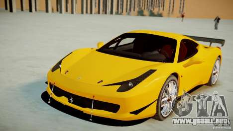 Ferrari 458 Challenge 2011 para GTA 4 visión correcta