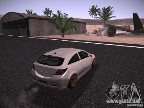 Vauxhall Astra VXR Tuned para GTA San Andreas left