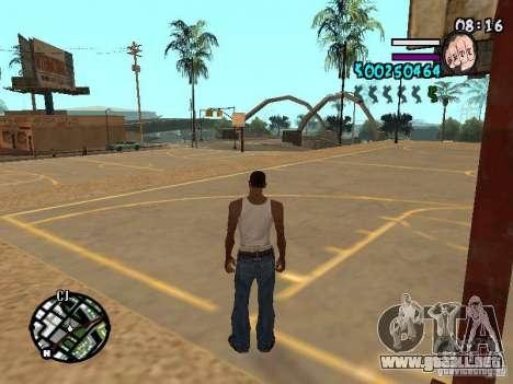 HUD by Hot Shot v2.1 para GTA San Andreas segunda pantalla
