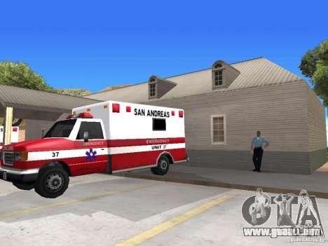 Renovación de la aldea Al-Kebrados v1.0 para GTA San Andreas octavo de pantalla
