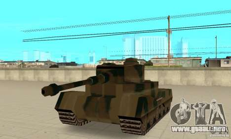 RL-Tiger Tank para GTA San Andreas