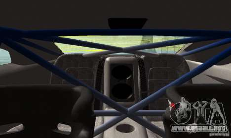 Nissan GTR R35 Tuneable para vista lateral GTA San Andreas
