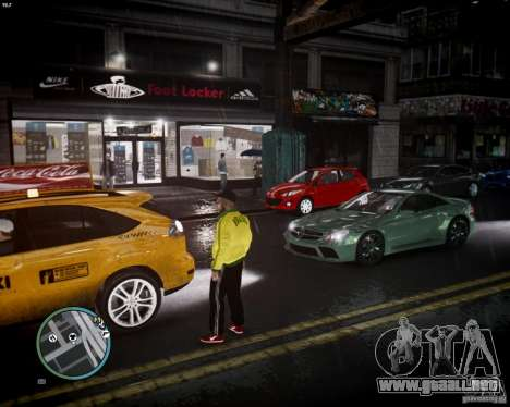 Foot Locker Shop v0.1 para GTA 4 adelante de pantalla