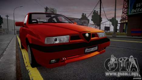 Alfa Romeo 155 Q4 1992 para GTA 4 left