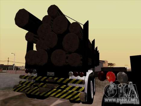 Trailer Kenworth K100 Aerodyne para GTA San Andreas left