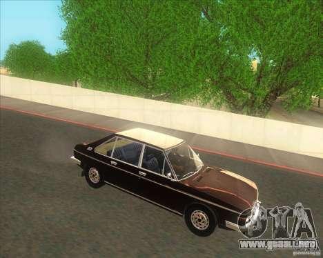 Tatra 613-2 para GTA San Andreas left