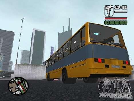 Ikarus 263 para visión interna GTA San Andreas