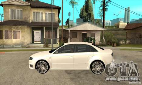 Audi RS4 2006 v2 para GTA San Andreas left