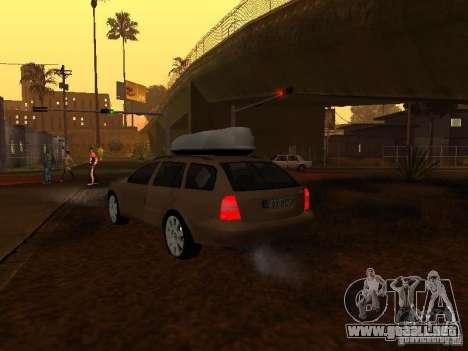 Skoda Octavia para el motor de GTA San Andreas