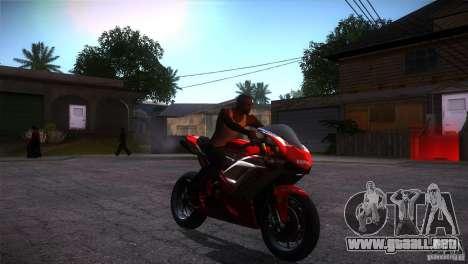 Ducati 1098 para GTA San Andreas vista hacia atrás