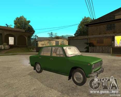 VAZ 2101 Kopek para la visión correcta GTA San Andreas