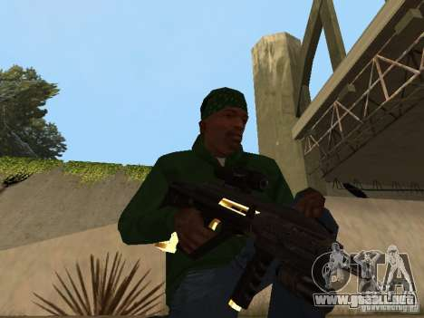 Armas de Pak de oro para GTA San Andreas séptima pantalla