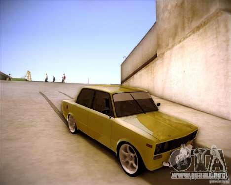 2106 VAZ deriva para visión interna GTA San Andreas
