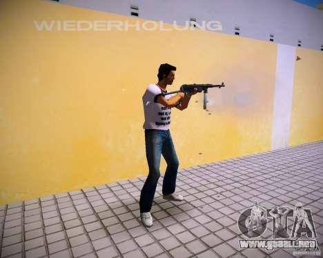MP-40 para GTA Vice City segunda pantalla
