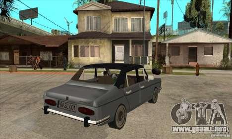 Anadol A1 SL 1975 para la visión correcta GTA San Andreas