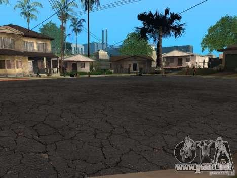 Nuevos caminos en la calle Grove para GTA San Andreas segunda pantalla