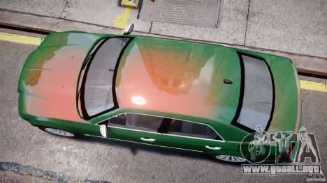 Chrysler 300C SRT8 Tuning para GTA 4 vista interior