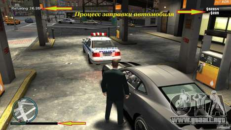 Relleno para GTA 4 segundos de pantalla