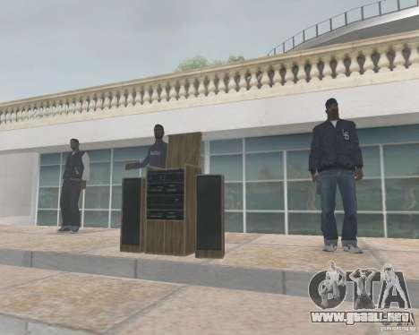 Madd Doggs party para GTA San Andreas segunda pantalla
