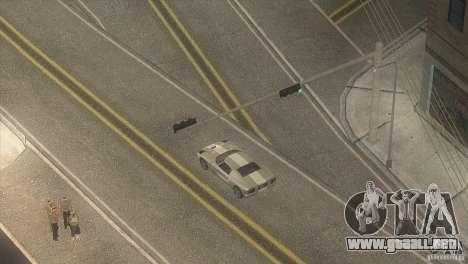 Carretera de calidad en el LS para GTA San Andreas segunda pantalla