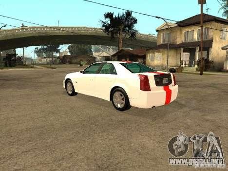 Cadillac CTS 2003 Tunable para GTA San Andreas left