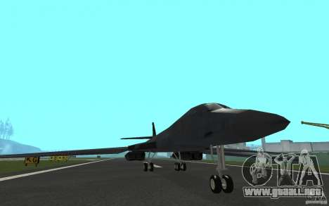 B1-B LANCER para GTA San Andreas left