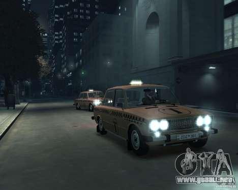 Taxi 2106 VAZ para GTA 4 vista lateral