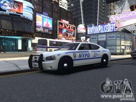 Dodge Charger NYPD para GTA 4