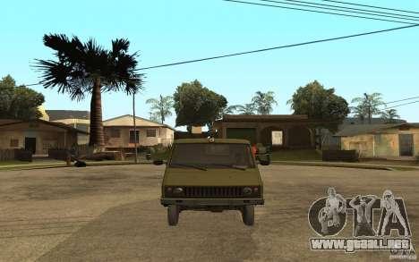 UAZ 3972 para la visión correcta GTA San Andreas