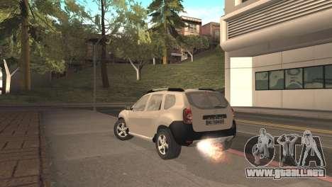 Dacia Duster para GTA San Andreas left