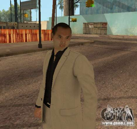 Red Dragon Clan Yakuza para GTA San Andreas